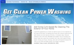 Get Clean Power Washing website