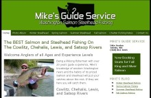 Washington Salmon Steelhead Fishing website