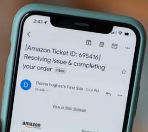 Amazon Plishing Email